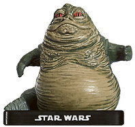 Star Wars Miniature - Jabba, Crime Lord, #46 - Very Rare