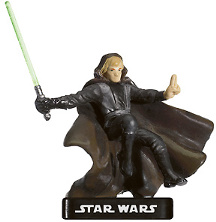 Star Wars Miniature - Luke Skywalker, Champion of the Force, #11 - Very Rare