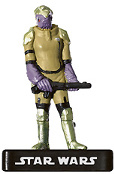 Star Wars Miniature - Mon Calamari Tech Specialist, #14 - Common