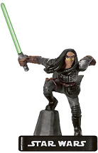 Star Wars Miniature - Quinlan Vos, Infiltrator, #1 - Very Rare