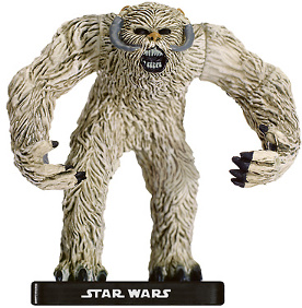 Star Wars Miniature - Rampaging Wampa, #51 - Very Rare