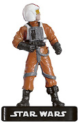 Star Wars Miniature - Rebel Pilot - AE, #20 - Common