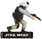 Star Wars Miniature - Rebel Trooper, #21 - Uncommon