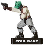 Star Wars Miniature - Rodian Scoundrel, #52 - Uncommon