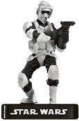 Star Wars Miniature - Scout Trooper - AE, #31 - Uncommon