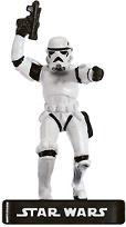 Star Wars Miniature - Stormtrooper Officer - AE, #35 - Uncommon