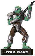 Star Wars Miniature - Trandoshan Mercenary, #55 - Uncommon