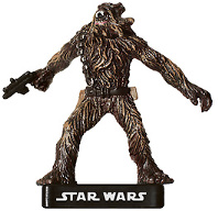 Star Wars Miniature - Wookiee Freedom Fighter, #23 - Common