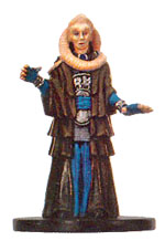 Star Wars Miniature - Bib Fortuna, #17 - Rare