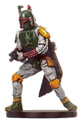 Star Wars Miniature - Boba Fett, Bounty Hunter, #19 - Very Rare