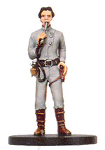 Star Wars Miniature - Dannik Jerriko, #25 - Very Rare