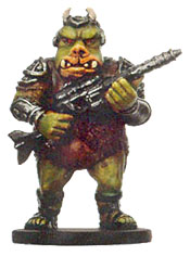 Star Wars Miniature - Gamorrean Thug, #33 - Common