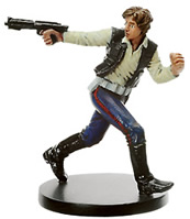 Star Wars Miniature - Han Solo, Scoundrel, #7 - Very Rare