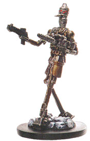 Star Wars Miniature - IG-88, Bounty Hunter, #36 - Very Rare