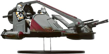 Star Wars Miniature - ISP Speeder, #1 - Rare