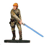 Star Wars Miniature - Luke Skywalker of Dagobah, #8 - Rare