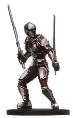 Star Wars Miniature - Mandalorian Blademaster, #56 - Uncommon