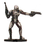 Star Wars Miniature - Mandalorian Commander, #57 - Uncommon