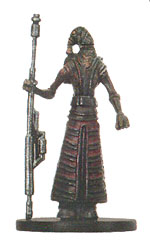Star Wars Miniature - Mustafarian Soldier, #42 - Common