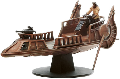 Star Wars Miniature - Nikto Gunner on Desert Skiff, #43 - Very Rare