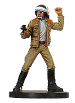 Star Wars Miniature - Rebel Captain, #10 - Uncommon