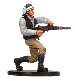 Star Wars Miniature - Rebel Heavy Trooper, #11 - Uncommon