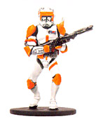 Star Wars Miniature - Clone Commander Cody, #22 - Rare