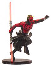 Star Wars Miniature - Darth Maul, Champion of the Sith, #40 - Rare