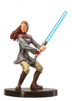 Star Wars Miniature - Jaina Solo, #54 - Very Rare