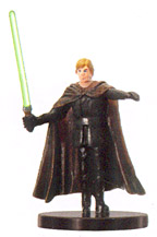 Star Wars Miniature - Luke Skywalker, Young Jedi, #44 - Very Rare