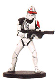 Star Wars Miniature - Saleucami Trooper, #37 - Common
