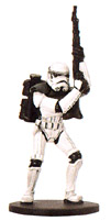 Star Wars Miniature - Sandtrooper, #50 - Common