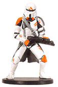 Star Wars Miniature - Utapau Trooper, #38 - Common