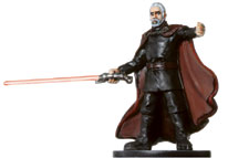 Star Wars Miniature - Count Dooku, #33 - Very Rare