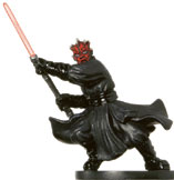 Star Wars Miniature - Darth Maul, #35 - Very Rare