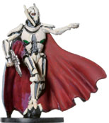 Star Wars Miniature - General Grievous, #40 - Very Rare