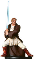 Star Wars Miniature - General Kenobi, #12 - Rare