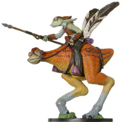 Star Wars Miniature - Gungan Cavalry on Kaadu, #13 - Rare
