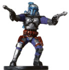 Star Wars Miniature - Jango Fett, #45 - Rare
