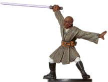 Star Wars Miniature - Mace Windu, #19 - Very Rare