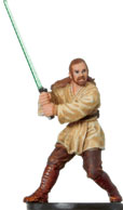 Star Wars Miniature - Qui-Gon Jinn, #23 - Very Rare