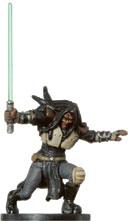 Star Wars Miniature - Quinlan Vos, #24 - Rare