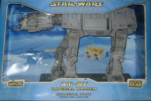 Star Wars Miniature - AT-AT Imperial Walker, #1 - Common