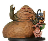 Star Wars Miniature - Jabba the Hutt, #50 - Very Rare