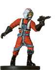 Star Wars Miniature - Rebel Pilot, #17 - Common