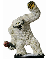 Star Wars Miniature - Wampa, #60 - Very Rare