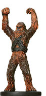 Star Wars Miniature - Wookiee Soldier, #20 - Common