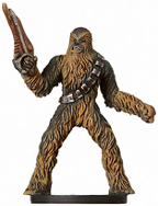 Star Wars Miniature - Chewbacca of Kashyyyk, #7 - Very Rare
