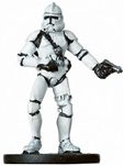 Star Wars Miniature - Clone Trooper Gunner, #11 - Common