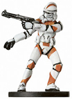 Star Wars Miniature - Clone Trooper #8, #8 - Common